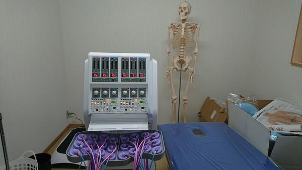 2月15日 整骨院様へ医療機器 開業納品をさせて頂きました。