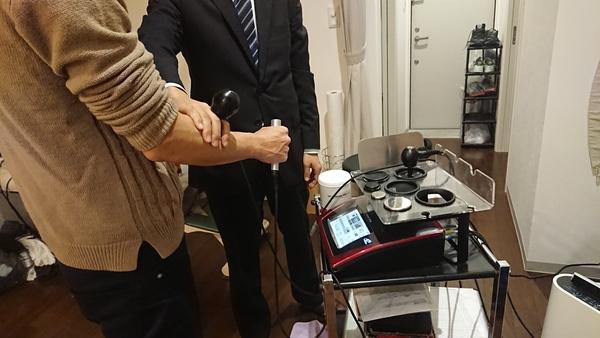2月16日 東京都の治療院様でラジオスティムの勉強会をさせて頂きました。