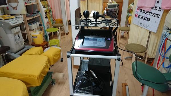 本日 千葉県の整骨院様にラジオスティムを納品させて頂きました。