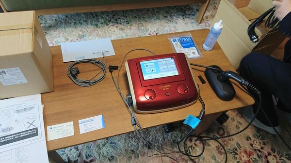 埼玉県の治療院様にEU-910を納品させて頂きました。
