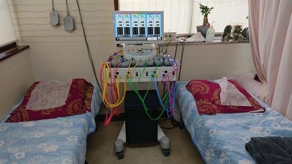 千葉県の整骨院様にネオテクトロンVP-6を納品させて頂きました。