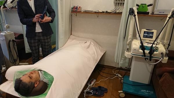 東京都の整骨院様で岩盤エクササイズのデモをさせて頂きました。