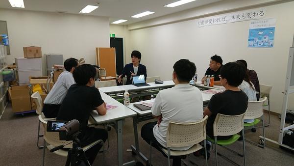 千葉県の整骨院さんで今話題の岩盤エクササイズのデモをさせて頂きました。
