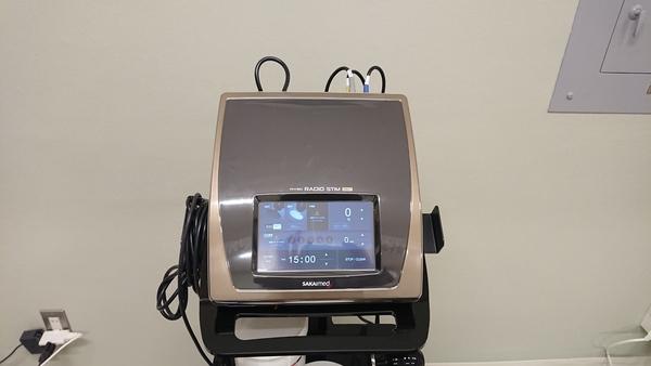 東京都の治療院さんへ高周波温熱機器:ラジオスティムMH2を納品させて頂きました。