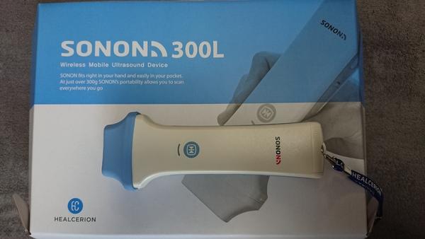 超音波観察装置:モバイルエコーSONON300Lをデモ用に導入致しました。