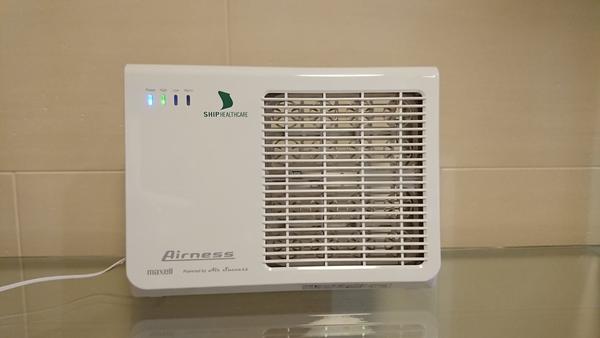 低濃度オゾン発生装置:Airness(エアネス)購入しました!