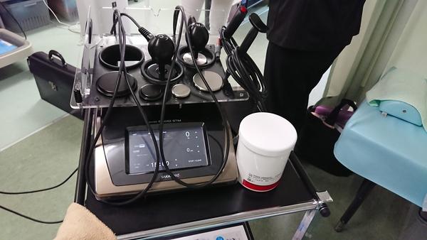 東京都の整骨院さんでラジオスティムMH2をデモさせて頂きました。
