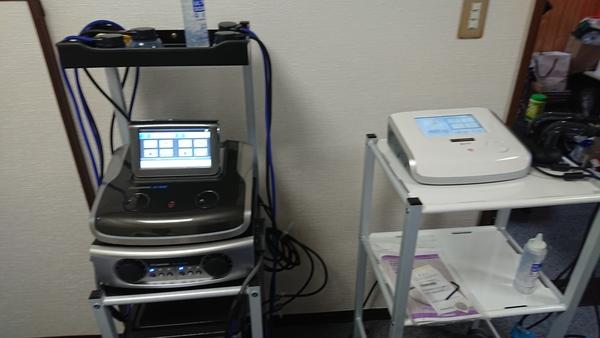 神奈川県の整骨院さんへES-5000&US-711を納品させて頂きました。