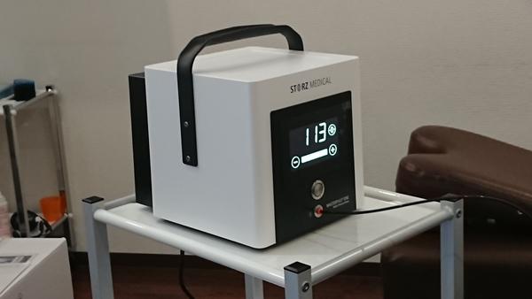 埼玉県の整骨院さんへ圧力波治療器:マスターパルスONEを納品させて頂きました。