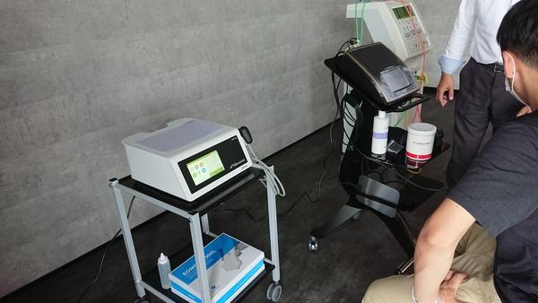 岩手県へ鍼灸治療院さん開業納品にお伺いしております!