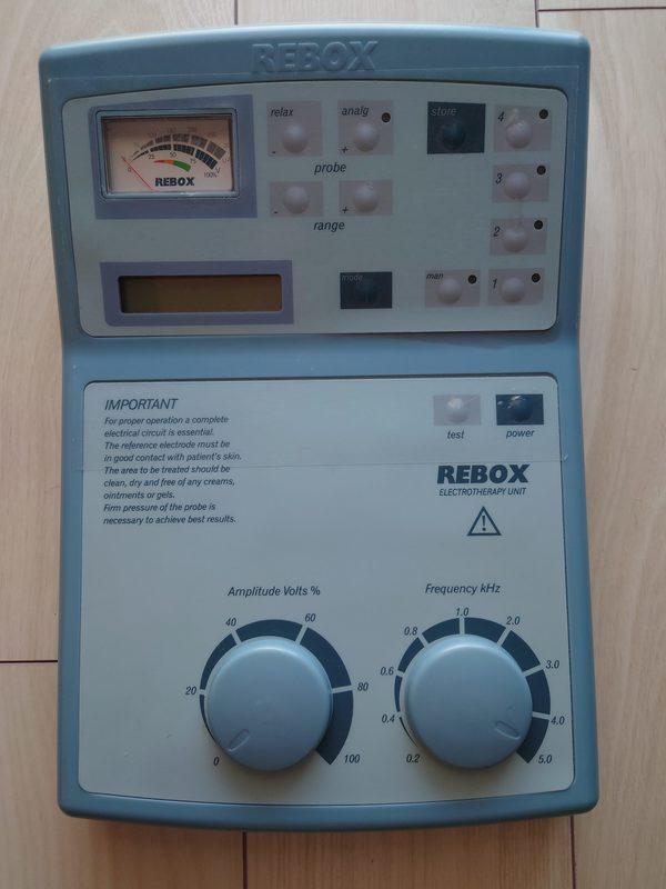 直流電流型マイクロカレント治療器:レボックス中古品入荷しました!