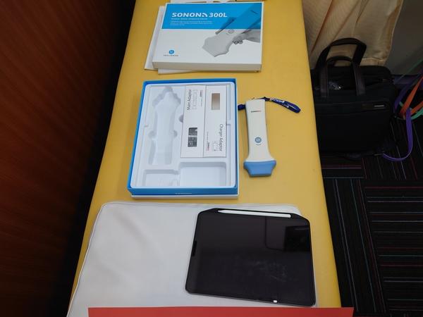 東京都の整骨院さんへ超音波画像診断装置:SONON300Lを納品させて頂きました。