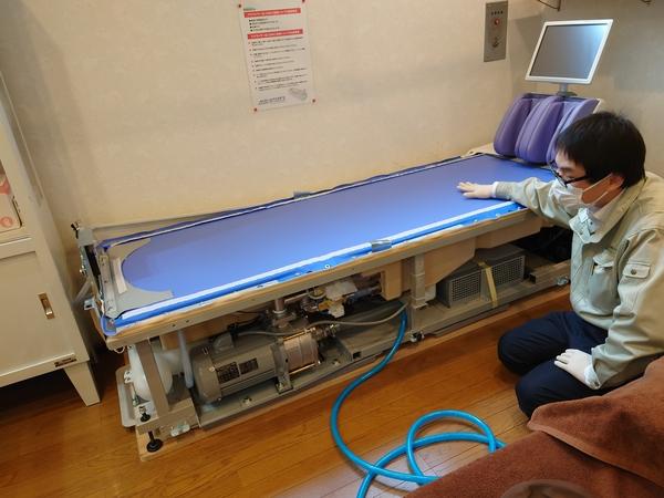 東京都の接骨院さんへアクアタイザーQZ-260を納品させて頂きました。