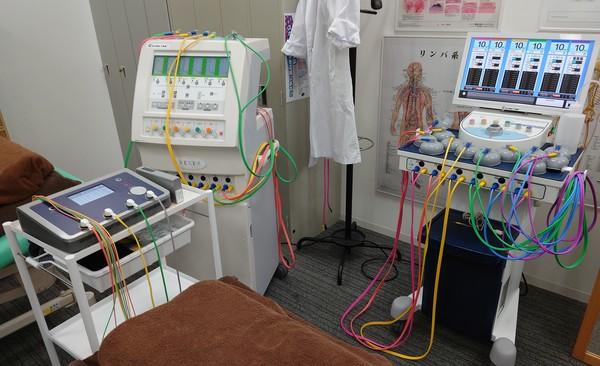 接骨院開業予定の先生と医療機器見学