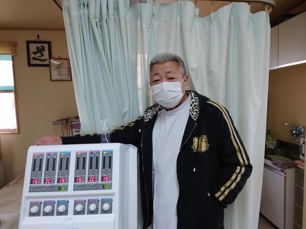 千葉県の接骨院さんへセダンテネオを納品させて頂きました。