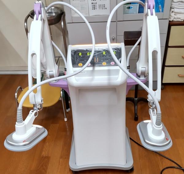 マイクロ波治療器:マイクロタイザーMT-5DSS納品